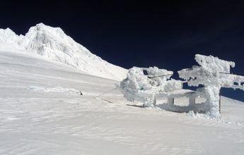 Timberline abre el glaciar Palmer con hasta 18 metros de nieve