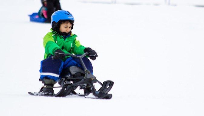 Máxima Entretención en la nieve en Parques de Farellones