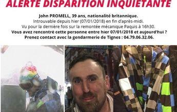Encuentran el cuerpo de un desaparecido en Tignes en enero