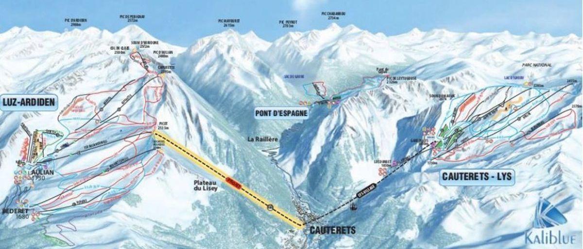 Cauterets entierra definitivamente su conexión a la estación de esquí de Luz Ardiden
