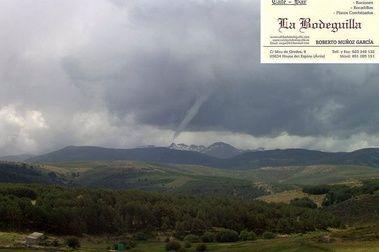 Tuba o tornado en Gredos