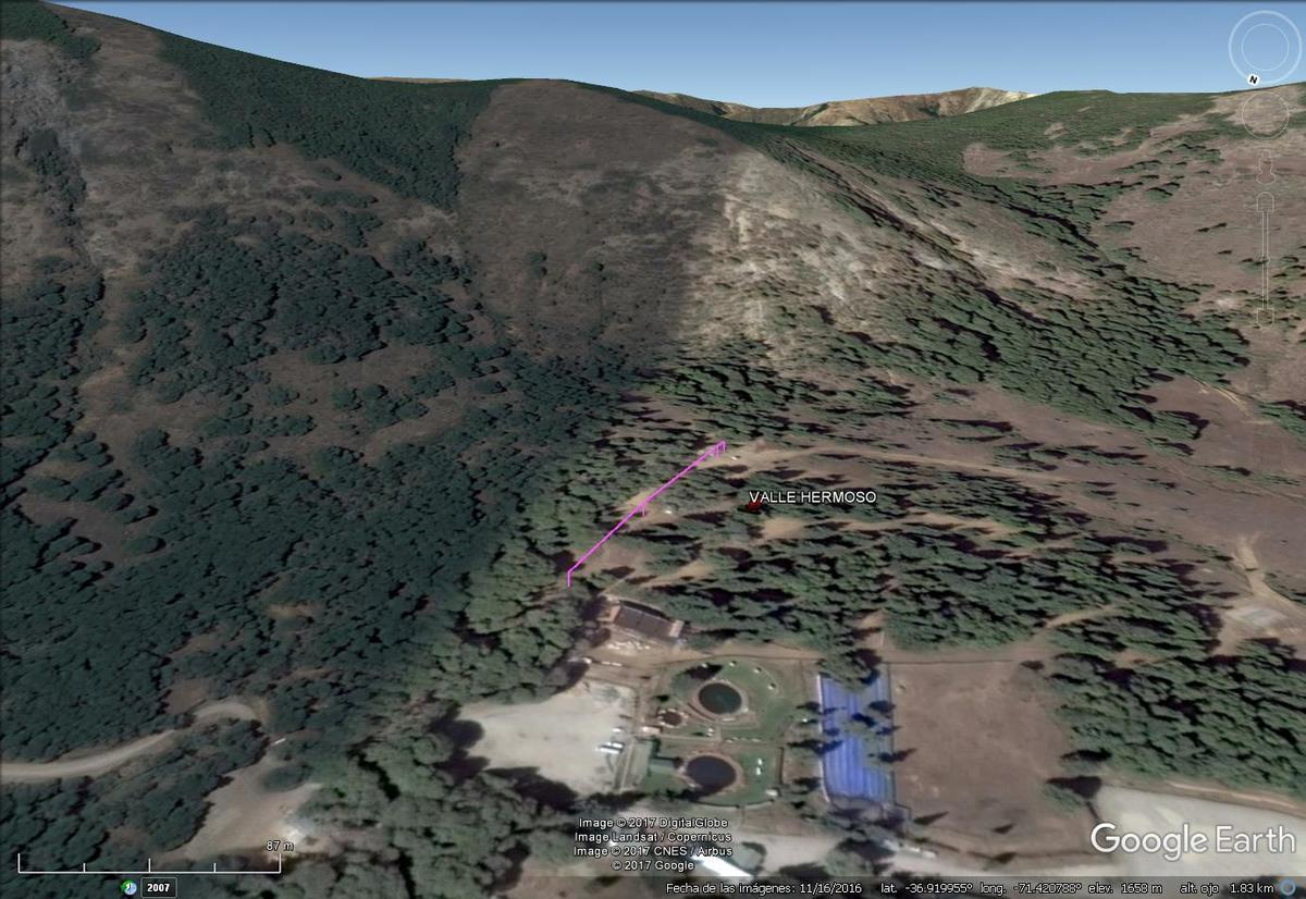 Vista Google Earth Valle Hermoso 2017