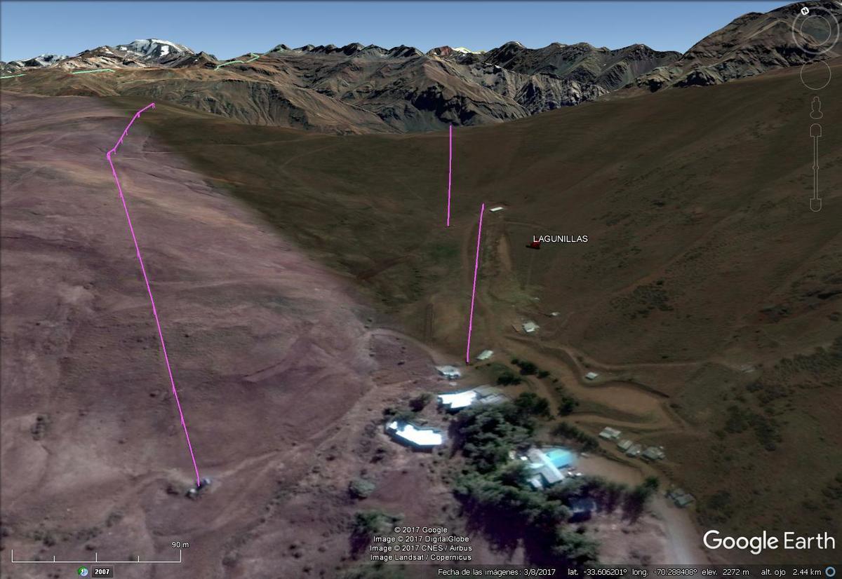Vista Google Earth Lagunillas 2017
