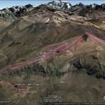 Vista Google Earth El Colorado - Farellones 2017