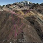 Vista Google Earth Valle Nevado 2017