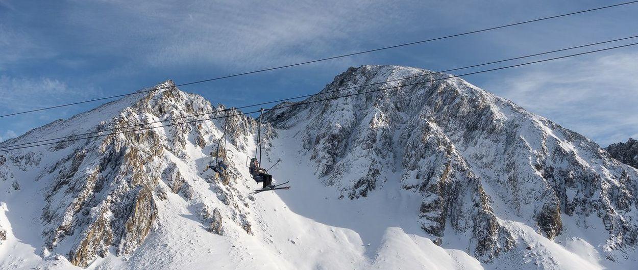 Inaugurando temporada de esquí en Porté-Puymorens
