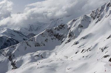 Esquiando en Luchon-Superbagnères