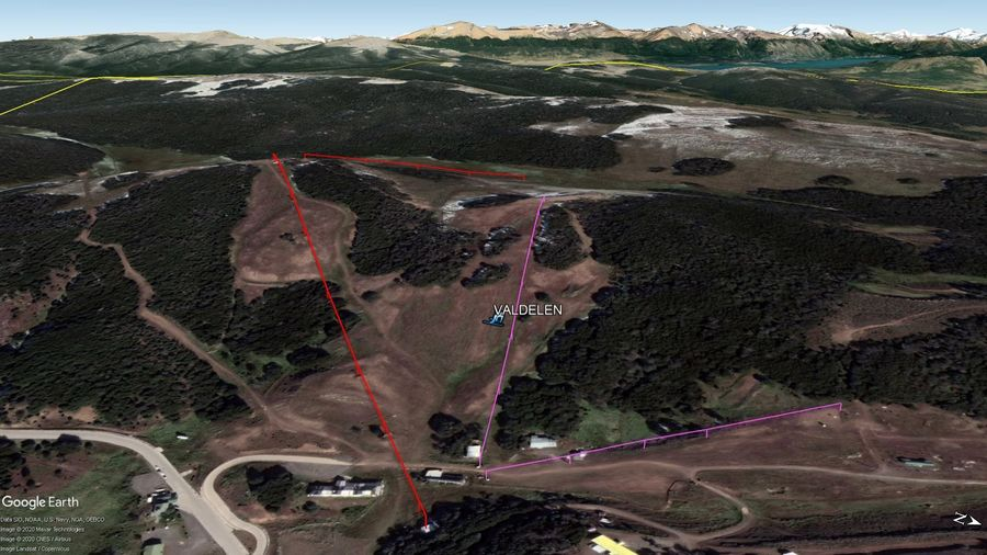 Vista Google Earth Valdelen 2020
