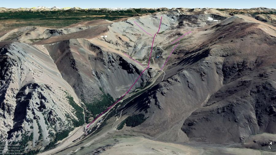 Vista Google Earth La Hoya 2020