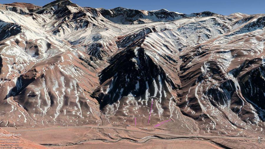 Vista Google Earth Los Puquios  2020