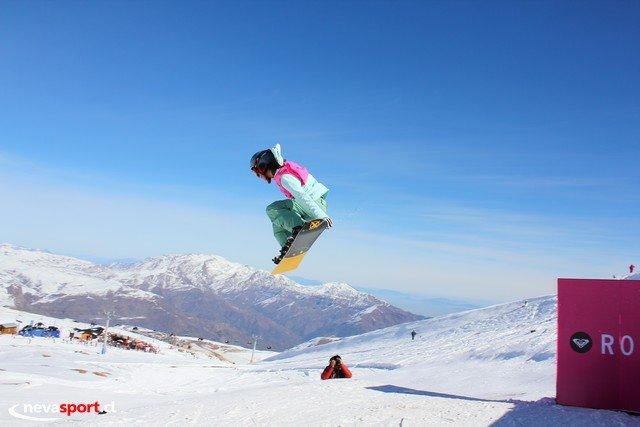 Roxy Snow jam La Parva