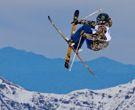 Vibrante Demostración de Medallista Olímpico en La Parva