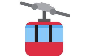 El emoji telecabina es el menos usado en Twitter