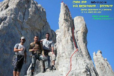 Reportaje.- Pequeña Aguja de Ansabere:Montaner-Vicente MD/250 m