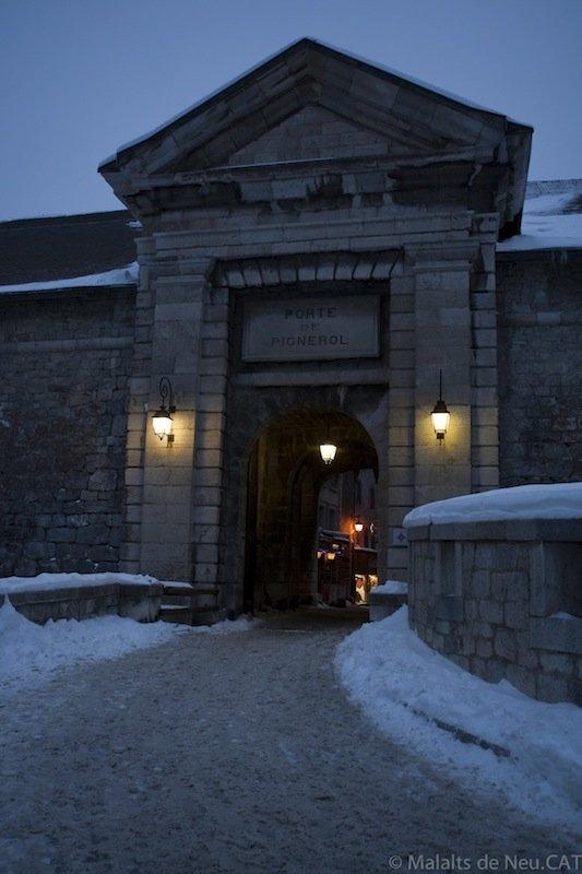 Porte de Pignerol a Briançon