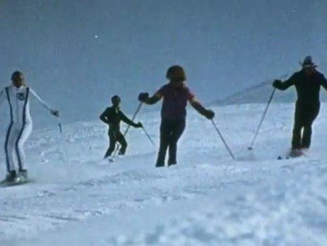 El esquí en el Irán prerrevolucionario.