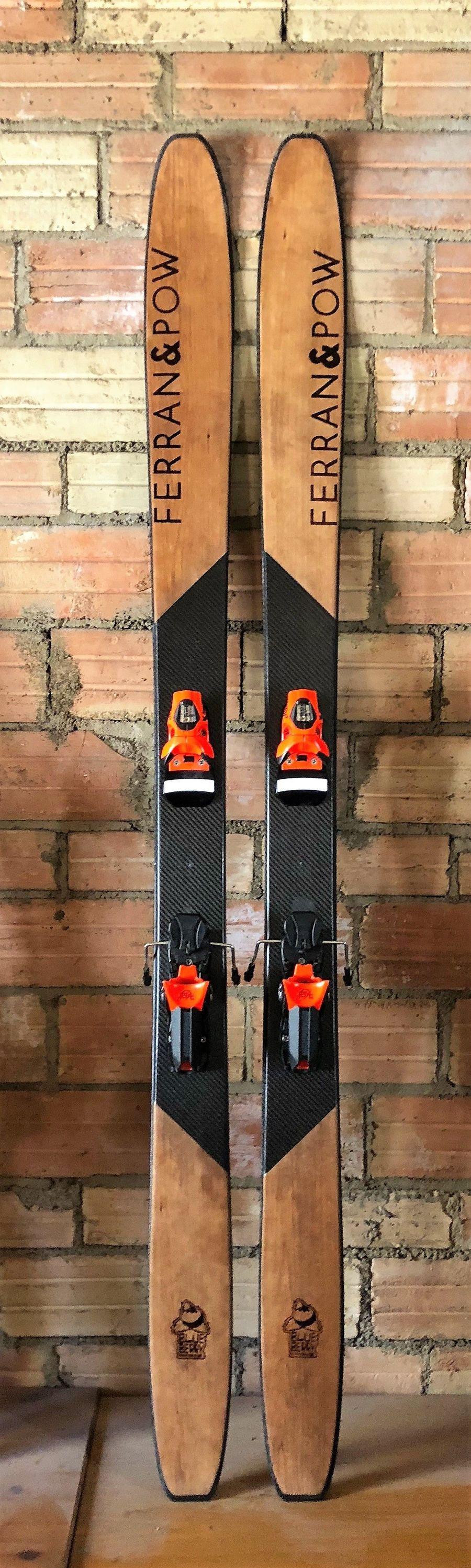 Esquís artesanales