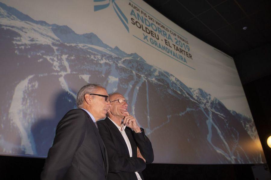Presentación Finales de la Copa del Mundo de esquí alpino Soldeu - El Tarter