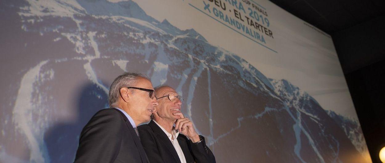 Presentadas las finales de Copa del Mundo de esquí alpino Soldeu- el Tarter