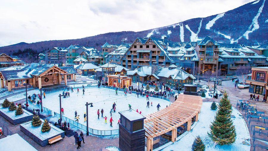 Stowe ski area