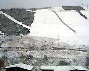 Llega la nieve al Cantábrico y al Central