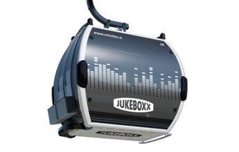 Un telecabina con Jukeboxx musical