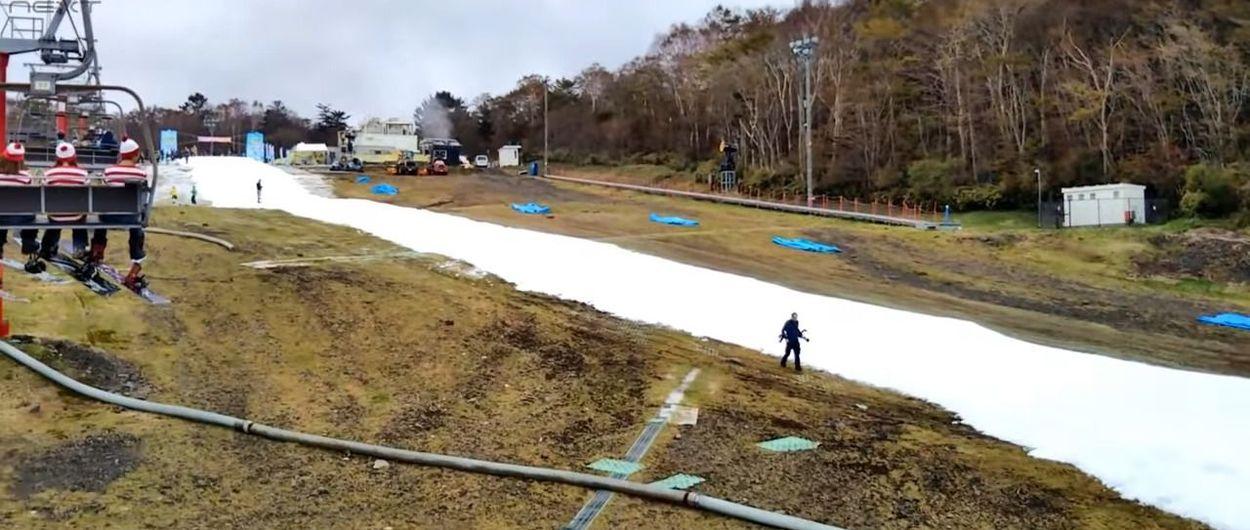 Fujiyama Snow Resort Yeti vuelve a abrir la temporada de esquí en Japón