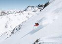 Imagen de un Esquiador en Ordino