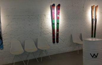 Kustom Skis expone sus mejores modelos en Whitelab