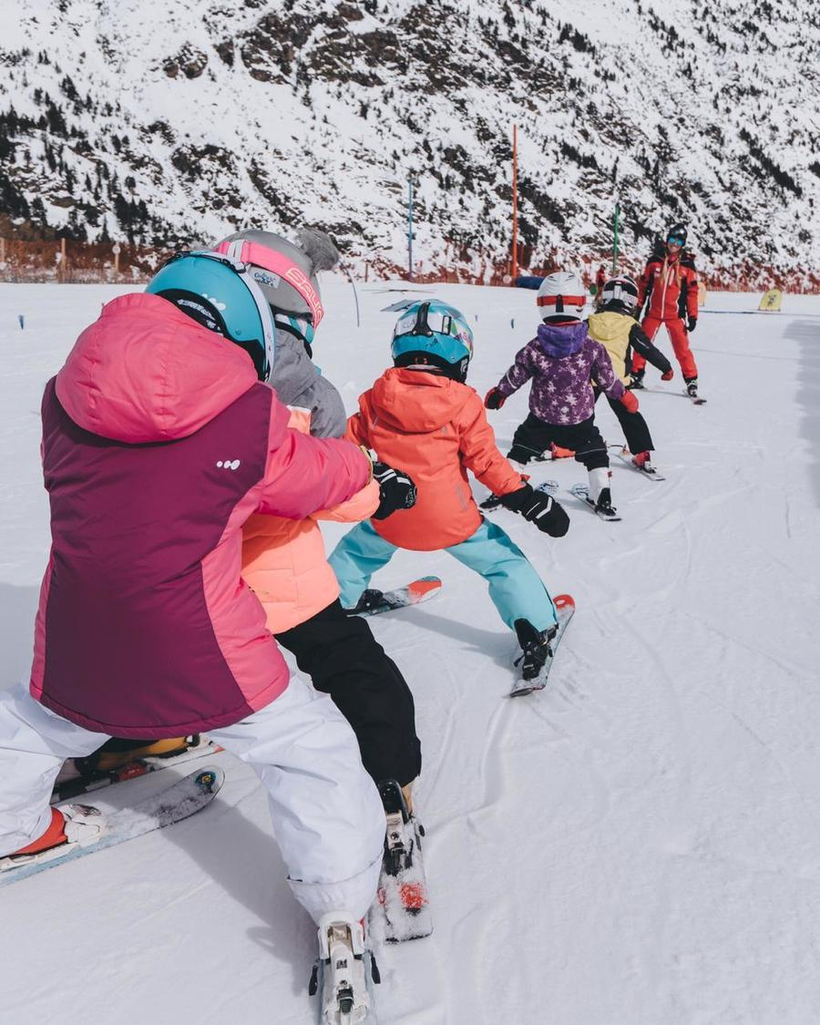 coles, andorra, esqui, escolar,