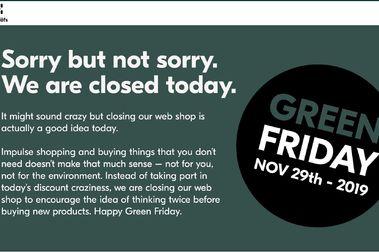 Haglöfs cierra su web durante el Black Friday y subirá los precios al doble