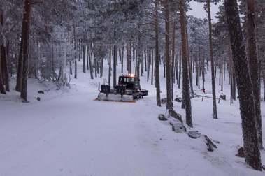 El centro de esquí nórdico Navafria cierra definitivamente