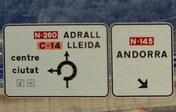La carretera a Andorra está entre las cinco más peligrosas de España