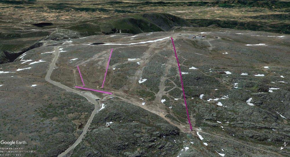 Vistas Google Earth Serra da Estrela 2017-18