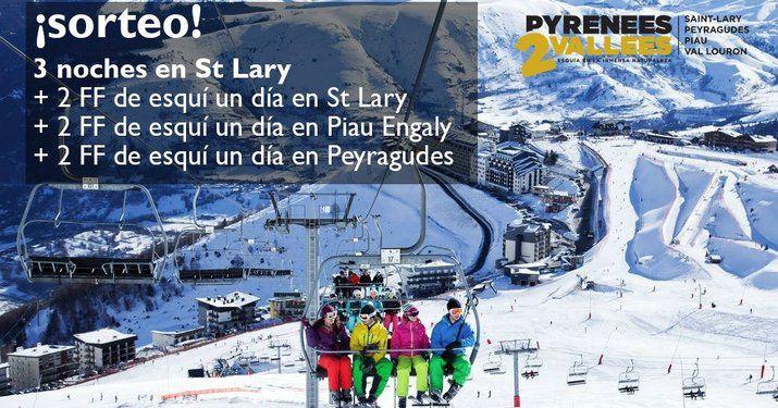 Pyrenees2Vallees sortea un fin de semana en St Lary