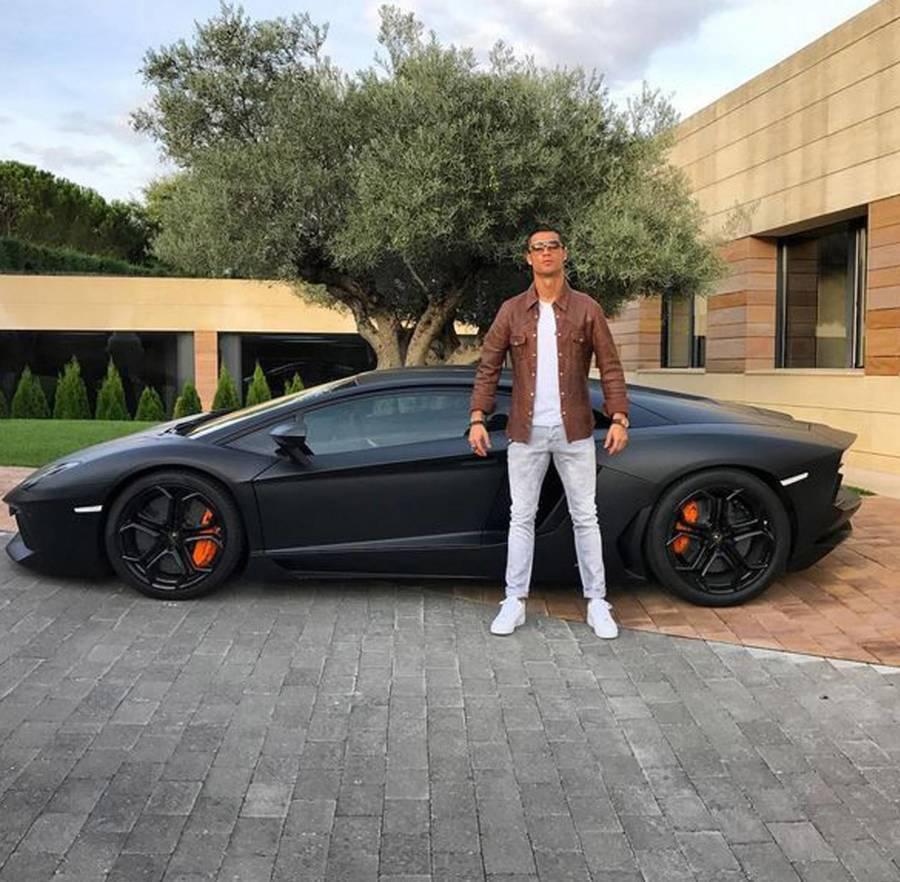Lamborghini de Ronaldo