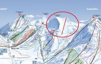 Baqueira Beret crece hasta los 160 kilómetros de pistas de esquí