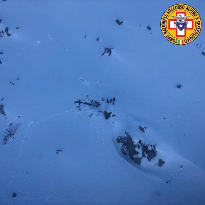 Accidente helicoptero