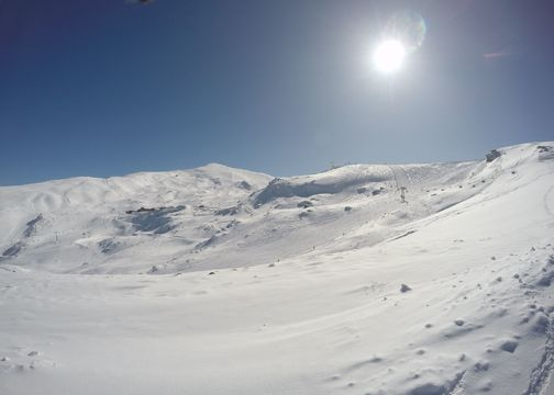 Un metro de nieve fresca: epic day en Sierra Nevada