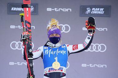 Tessa Worley logra la victoria en Kronplatz tras una espectacular remontada