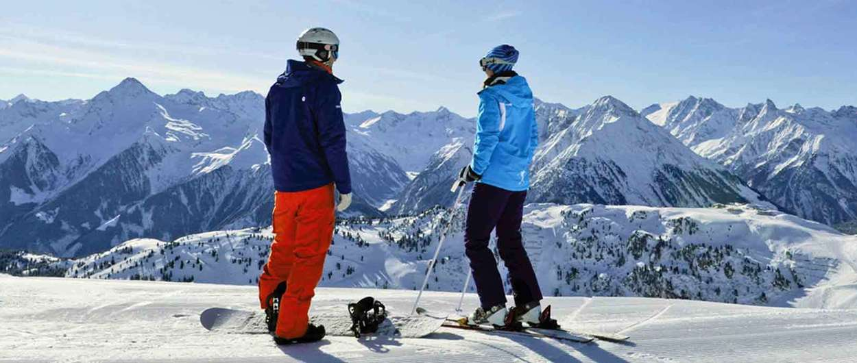 Snowboard alternativa al esquí y viceversa