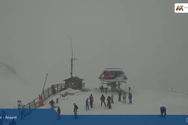 Vuelve la nieve a las estaciones de esquí del Pirineo aragonés