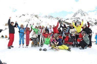 Grandvalira celebra una esquiada solidaria con los Fernández-Ochoa