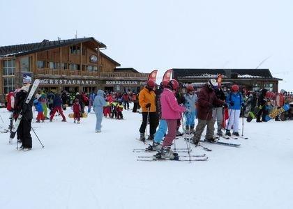 100 kilómetros para esquiar en Sierra Nevada
