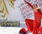 Ivan Origone marca un nuevo récord del mundo sobre esquís