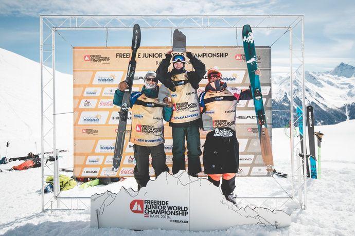 El español Abel Moga es tercero en el Freeride Junior World Tour Championship