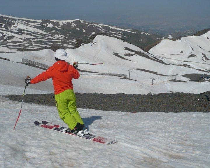 Ratio esfuerzo-beneficio en el esquí de primavera
