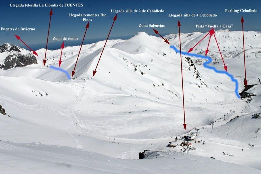Proyecto conexion San Isidro y Fuentes de Invierno