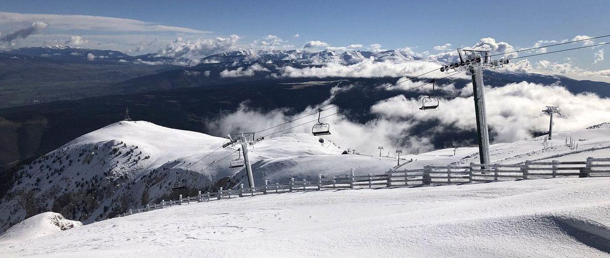 Una nueva nevada deja Masella lista para un fin de semana invernal