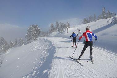 El esquí nórdico explota en Francia gracias al COVID-19